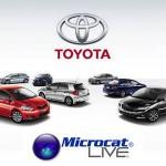 نرم افزار مایکروکت بانک اطلاعاتی قطعات خودروهای تویوتا و لکسوس